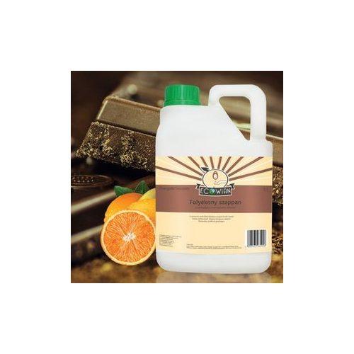 Ecowian Folyékony szappan zöldalma illattal 5 l.