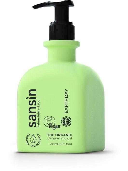 Sansin szenzitív kézi mosogatószer Earthday