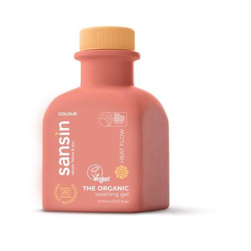 Sansin színes mosógél Heat Flow 1 liter -színes ruhákhoz
