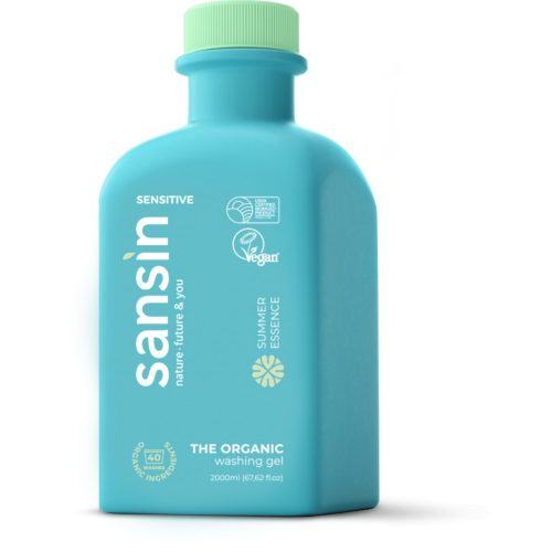 Sansin mosógél Summer Essence - érzékeny bőrre 2l.