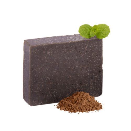Holt tengeri iszapos fekete szappan aktív szénnel-pattanásos bőrre