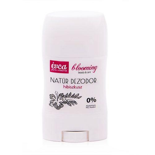 Hibiszkuszos természetes dezodor cink-oxidos