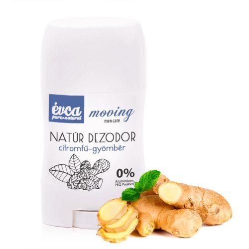 Natúr dezodor  citromfű-gyömbér -cink-oxidos