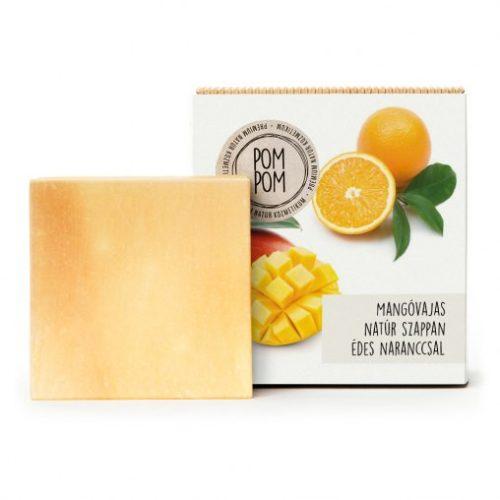 Mangóvajas natúr szappan édes naranccsal