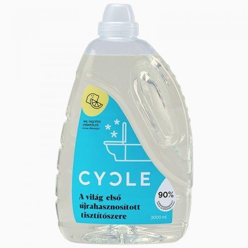 Cycle WC tisztító utántöltő 3 l.