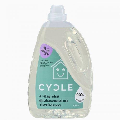 Cycle Felülettisztító utántöltő 3 liter