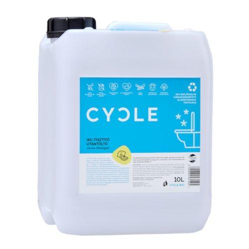 Cycle WC tisztító utántöltő 10 l.