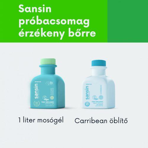 Sansin mosás próbacsomag érzékeny bőrre
