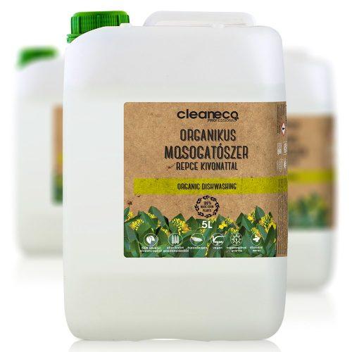 Cleaneco Organikus Mosogatószer - repce kivonattal 5L - újrahasznosítható csomagolásban