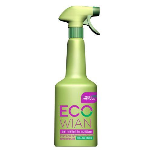 Ecowian HIGÉN+99 BIO ipari fertőtlenítő és tisztítószer (szórófejes)