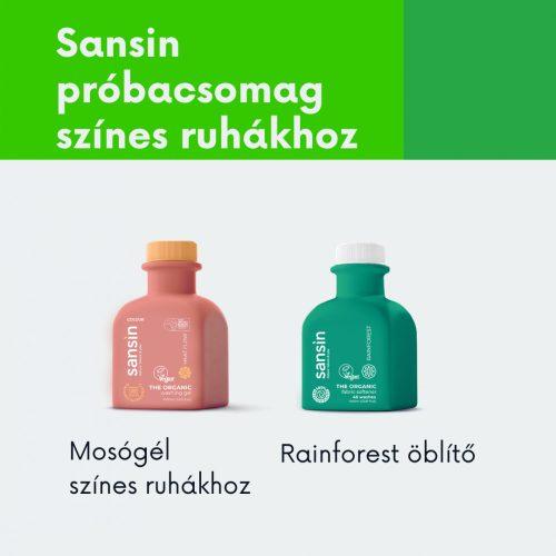 Sansin mosás próbacsomag színes ruhákhoz